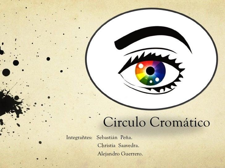 Circulo CromáticoIntegrantes: Sebastián Peña.             Christia Saavedra.             Alejandro Guerrero.