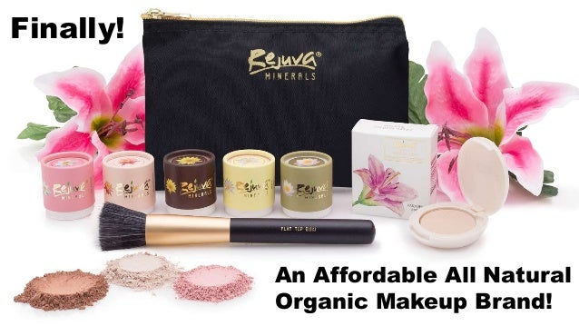 Finally! An Affordable All Natural Organic Makeup Brand!