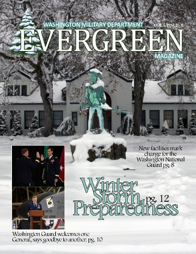Washington Military Department Evergreen Magazine Vol. 1 Issue 2
