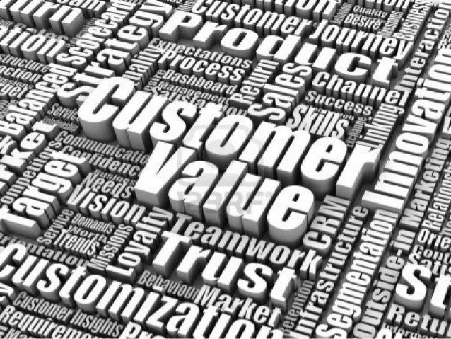Customer value A description of the experiences the target user will realize upon purchase and use of a product. Reflects ...