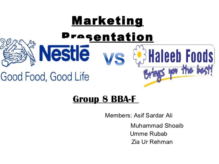 Final marketng project by group 8