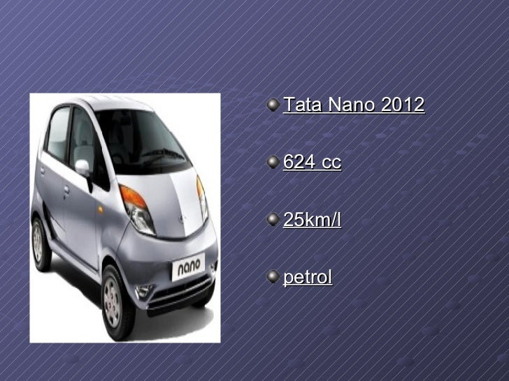 market plan for tata nano Marketing plan for the tata nano tata group marketing plan by manu joseph section c prn: 147 executive summary the tata nano is an inexpensive, rear.