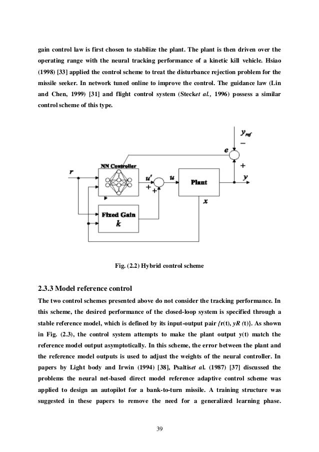 Distributed control system thesis