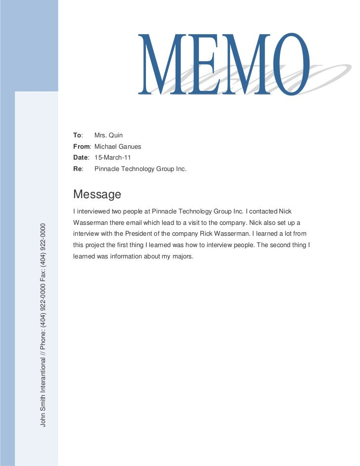memo to staff template - final memo