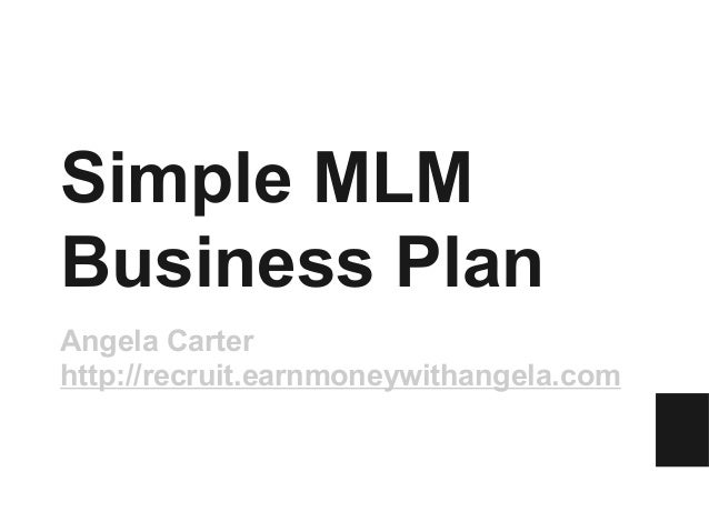 Simple MLM Business Plan for Predictable MLM Income