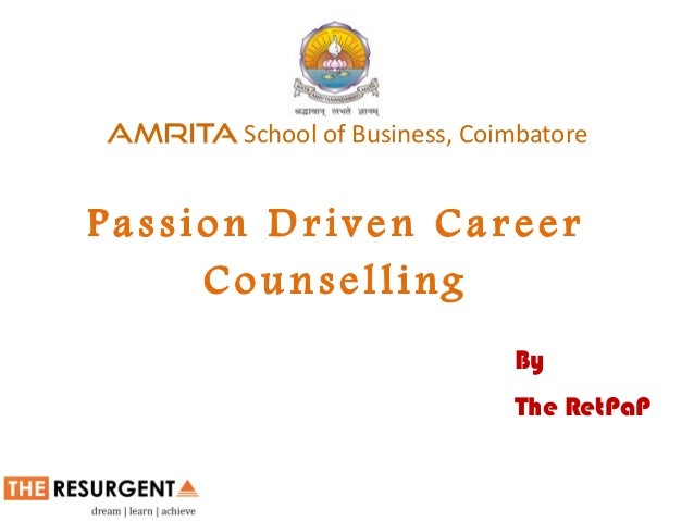 To run a robust model of Career Counselling