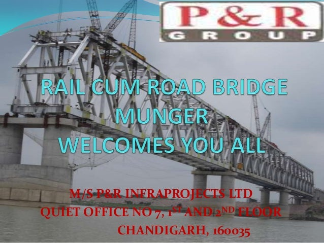 M/S P&R INFRAPROJECTS LTD QUIET OFFICE NO 7, 1ST AND 2ND FLOOR CHANDIGARH, 160035