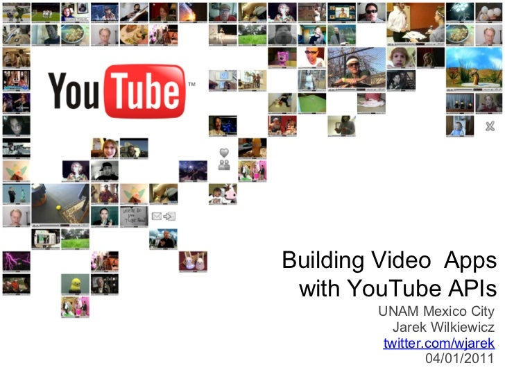 YouTube APIs presentation at Facultad de Ciencias, Universidad Nacional Autónoma de México