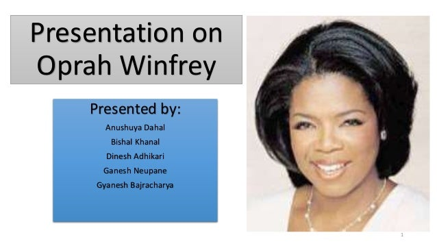 biography of oprah winfrey essay example I oprah winfrey is giving, a role model and very successful person i ever seen oprah winfrey revolutionized the talk show market with her unique and natural style and rose to become the host of the most watched daytime show on television, which boasts 22 million viewers daily (three-fourths of whom are women.