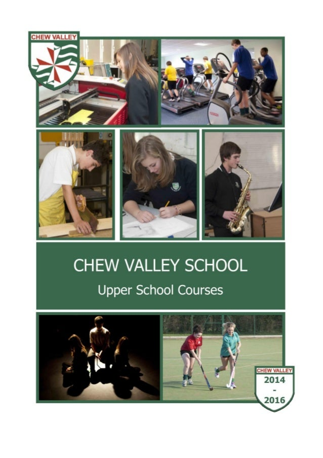 Chew Valley School Options Booklet 2014