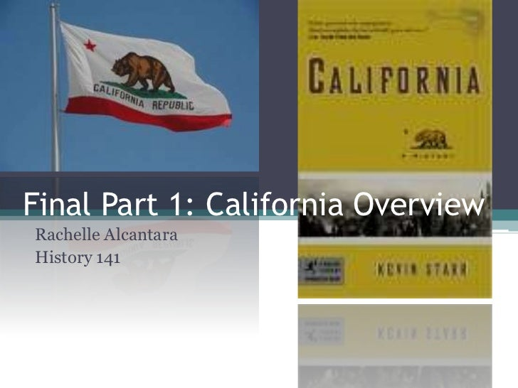 Final part 1. california book
