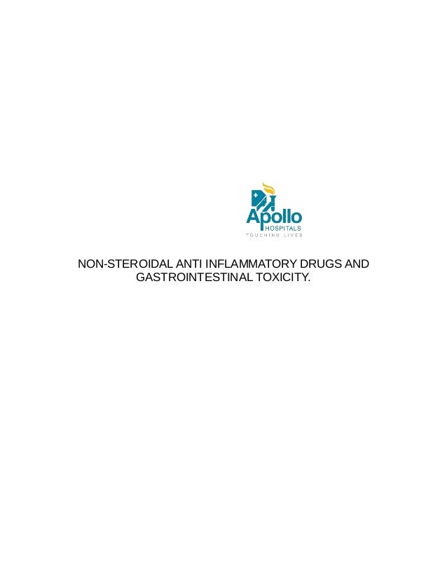 NON-STEROIDAL ANTI INFLAMMATORY DRUGS AND GASTROINTESTINAL TOXICITY