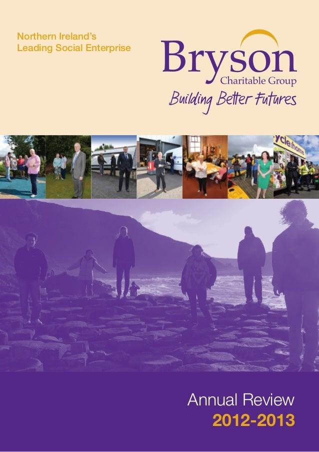 Bryson Annual Review 2012-2013
