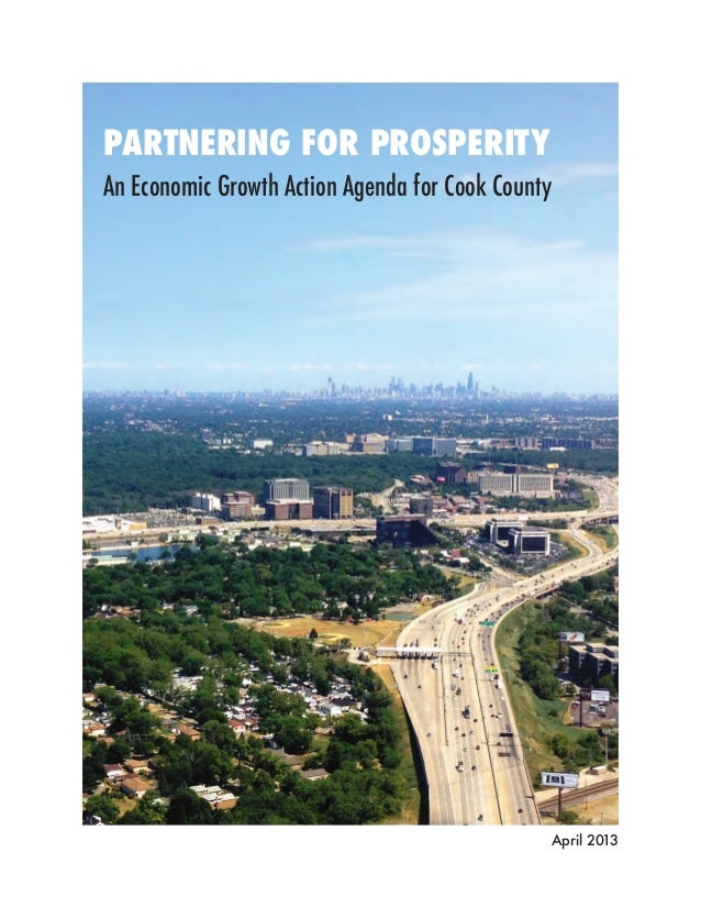 PARTNERING FOR PROSPERITYAn Economic Growth Action Agenda for Cook County                                                 ...