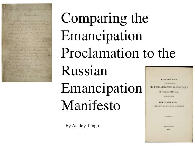 Emancipation Proclamation Original Document