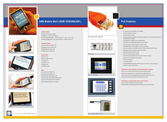 SMS Mobile Alert (GSM TECHNOLOGY)                                                                                 PLC Feat...