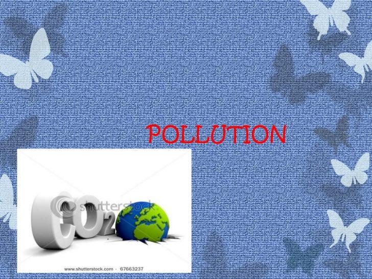 Final pollution