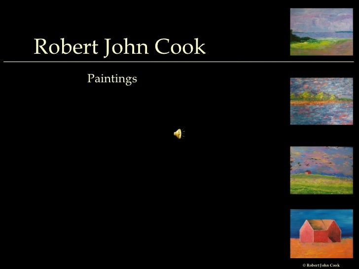 Robert John Cook Portfolio- Paintings