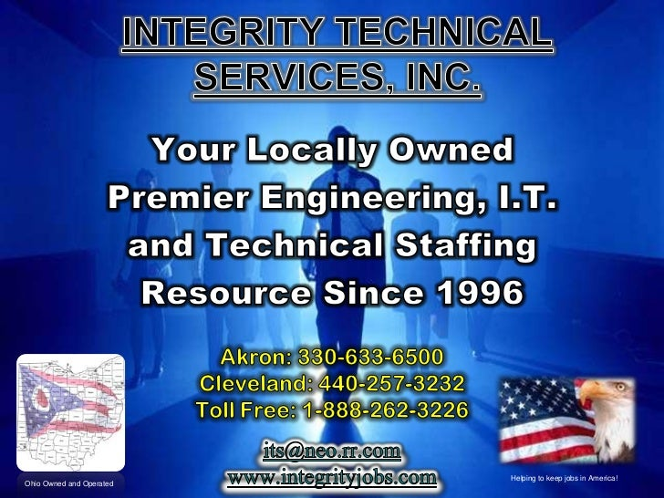 Introduction to Integrity Technical Services, Inc.