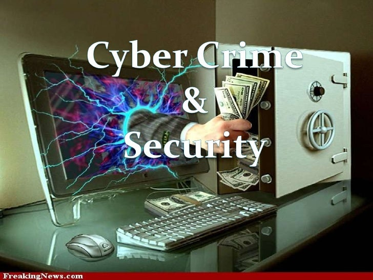 presentation on cyber crime and security