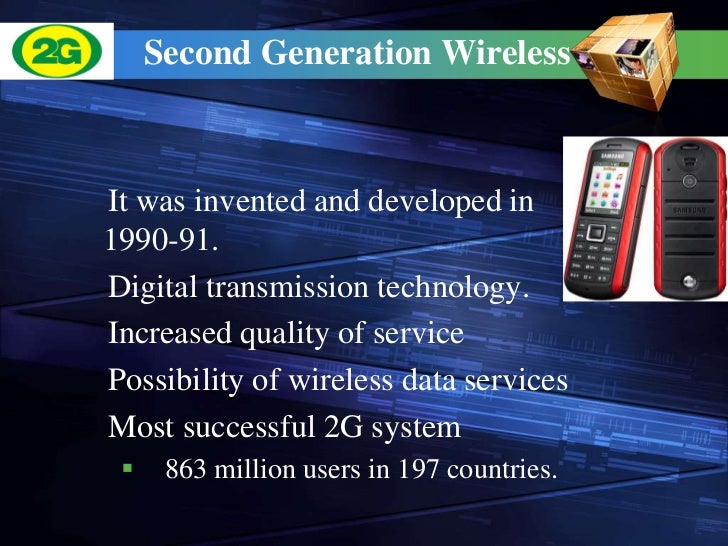 an analysis of the 3g generation technology Introduction of the third generation (3g) cellular system will offer numerous  not  in any way imply ieee endorsement of any of helsinki university of technology.