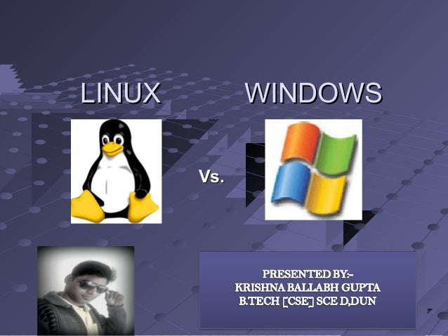"""an analysis of the server shootout between linux and windows nt On both windows and linux, it is common to have at most one file system per partition that is about the end of the similarity that is about the end of the similarity each windows file system gets a drive letter, like """"c:."""