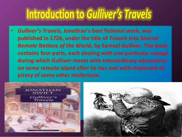 how important is setting in gullivers travels essay