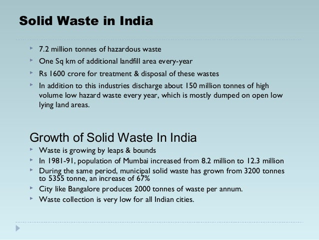 household waste essay The increasing amount of waste being produced around the world is a serious problem and a major thre.