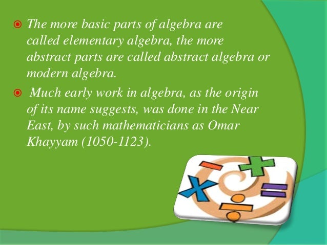 algebra in daily life Math in everyday life you may save this lesson plan to your hard drive as an html file by selecting file, then save as from your browser's pull down menu.