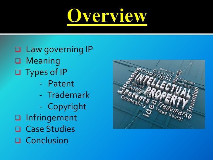the two categories of the intellectual property rights Despite the strengthening of intellectual-property laws, the growing economic and cultural importance of intellectual-property rights, and a widespread view that such rights are socially desirable, the future of intellectual property remains in some doubt.