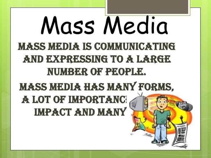 mass media essay conclusion