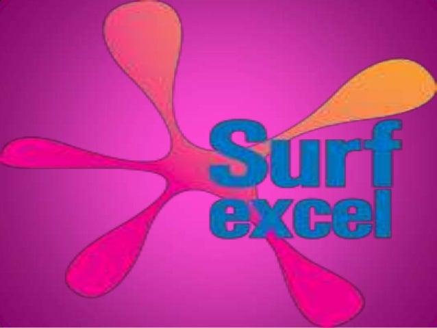 An Ad Campaign on Brand SURF EXCEL Presented by: Monica Hooda Pradeep Bamnia Anup Dahiya Krishan Kumar