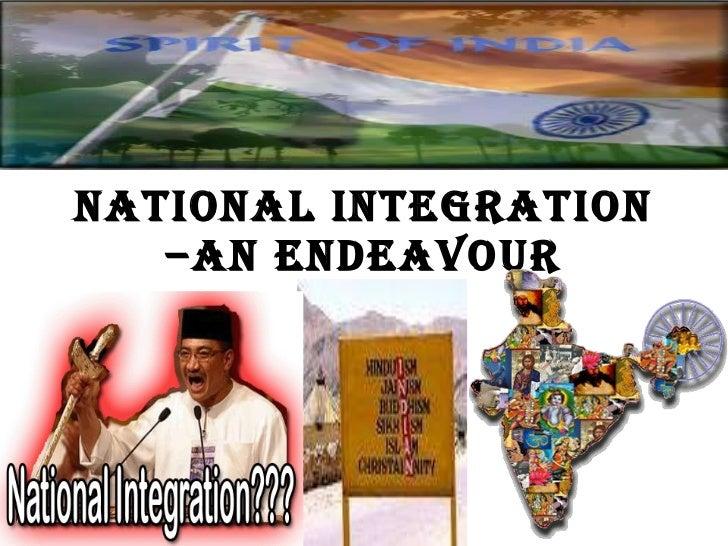 India National Integration Essay