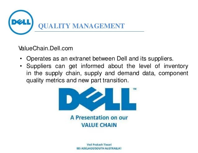 examining the success and supply chain management of dell Strategy and planning examines supply chain management as a strategic matter  for trading partners, along with factors relating  apparent for participating  companies, with successful  of gateway and dell computer as companies that  have.