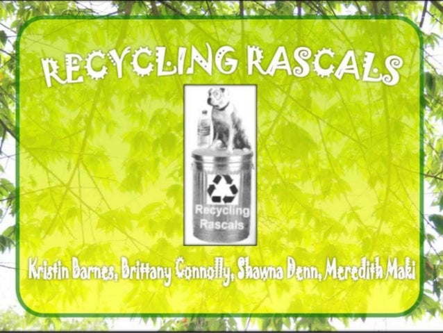 Final ppt for recycling
