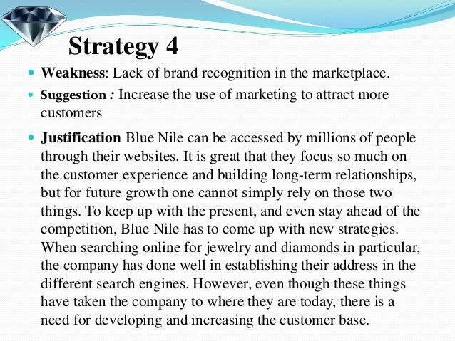 "blue nile inc case study Rsm case development centre / case study search: blue nile, inc: ""stuck in the middle"" of the diamond engagement ring market."
