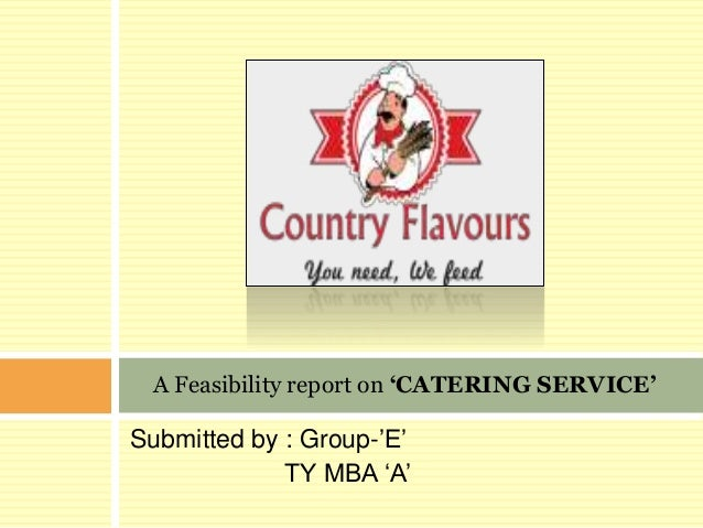 Business plan for catering services