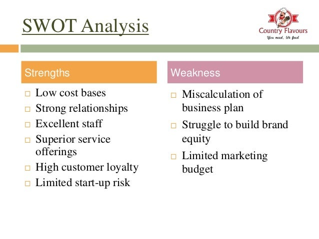 swot analysis of a restaurant business in london New business opportunities- we could expand into purchasing other associated business-for example purchasing another separate restaurant and when patrons spend.