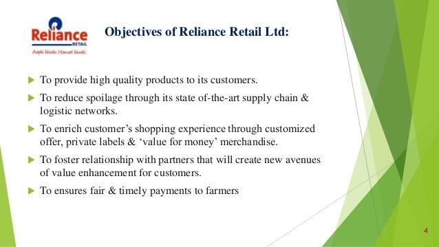 Welcome to The Reliance SuperMart!