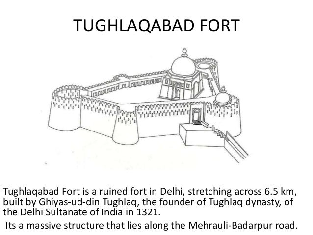 tughlaq dynasty architecture Y Intersection