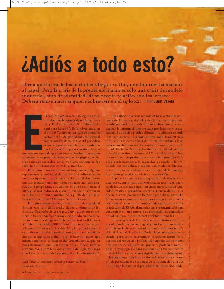 Final Prensa Foreign Policy