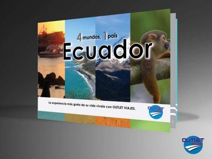 ¿QUIÉNES SOMOS?Una empresa ecuatoriana        dedicada aproveer las mejores ofertas turísticas paraviajeros   nacionales  ...