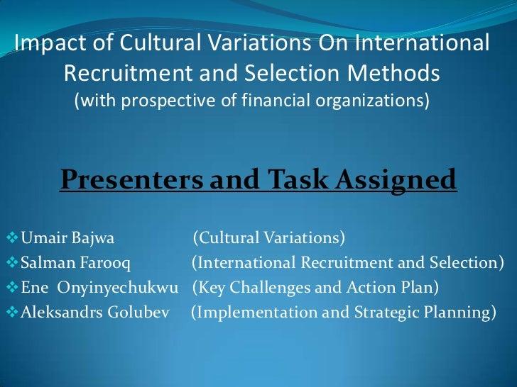 HRM Cultural presentation