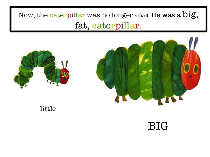 The Very Hungry Caterpillar Fat Pictures to Pin on ...