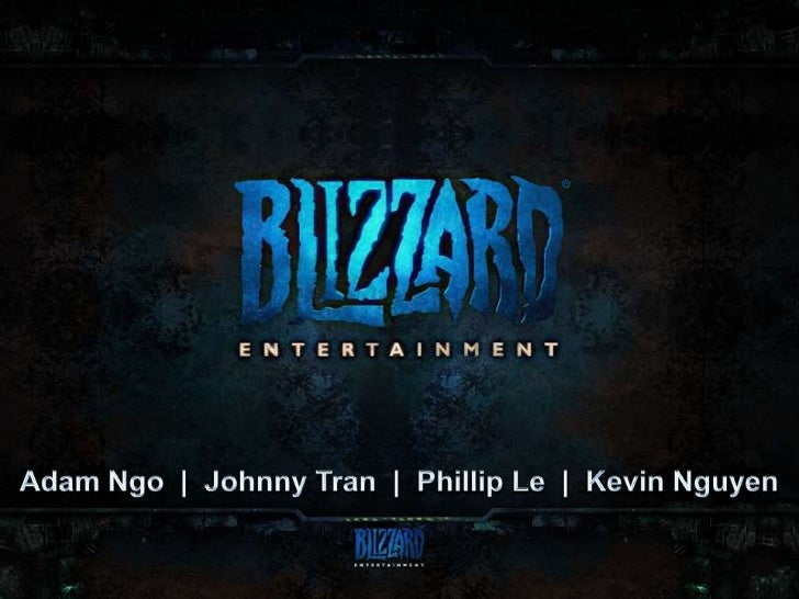 Blizzard Entertainment Presentation