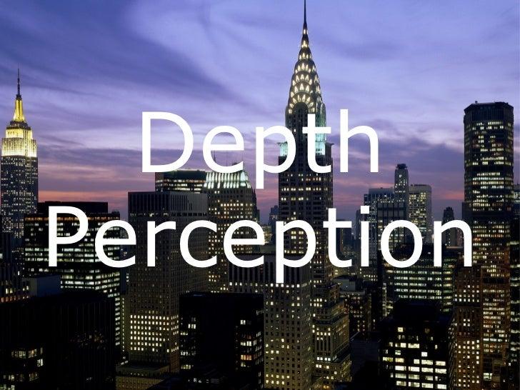 EDU290 Depth Perception