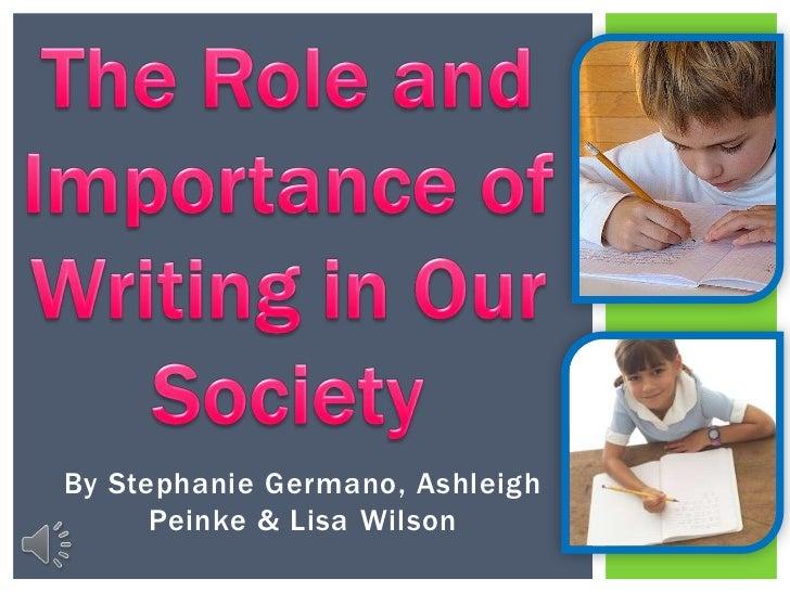 By Stephanie Germano, Ashleigh      Peinke & Lisa Wilson