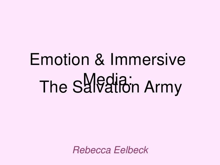 Emotion & Immersive Media Final Presentation