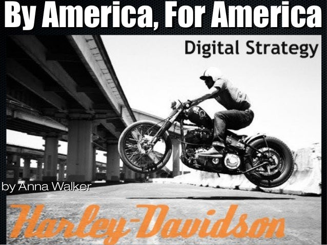 Harley-Davidson Digital Strategy