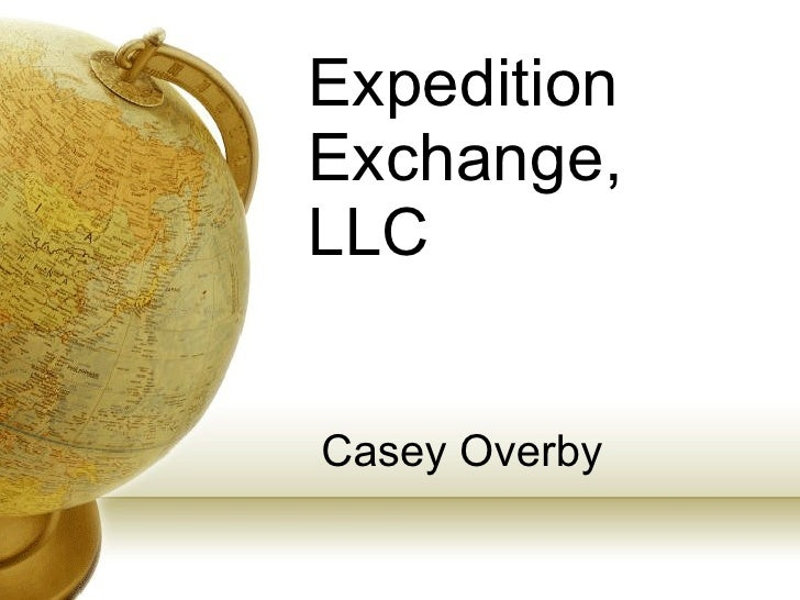 Expedition Exchange, LLC Casey Overby